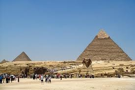 Sphinx Pyramids People