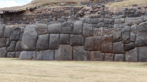 Larger blocks were Anunnaki; smaller stones, Incan.