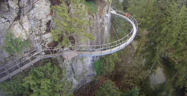 Cliffwalk Capilano Suspension Bridge Park