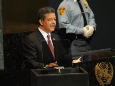 Leonel en la ONU