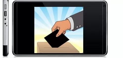 Voto desde el celular