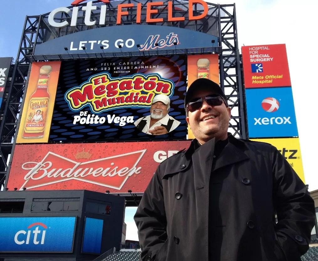 Felix Cabrera en el  Citi Field