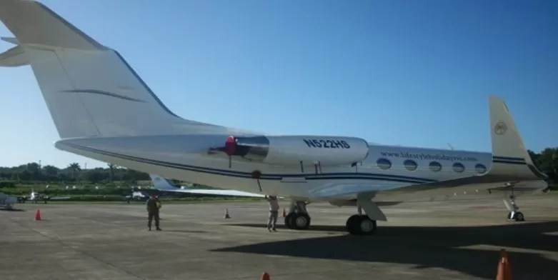 Avion de Felix Bautista