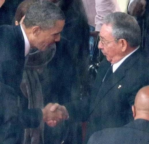 Obama y Raul