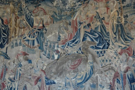 One of the exquisite tapestries