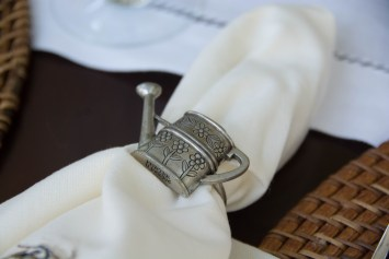 Watering Can Napkin Ring