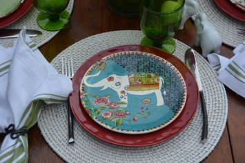 White Nomad Plate