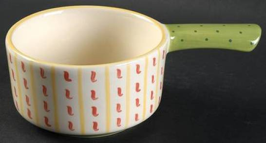 Pistoulet one-handled soup bowl