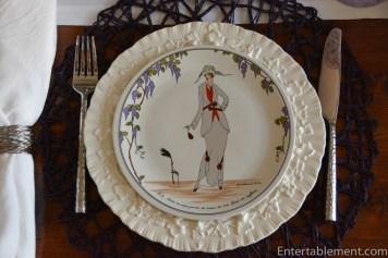 Villeroy Boch 1900 Art Deco Plates