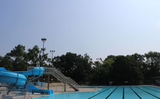 Monarch Park outdoor pool