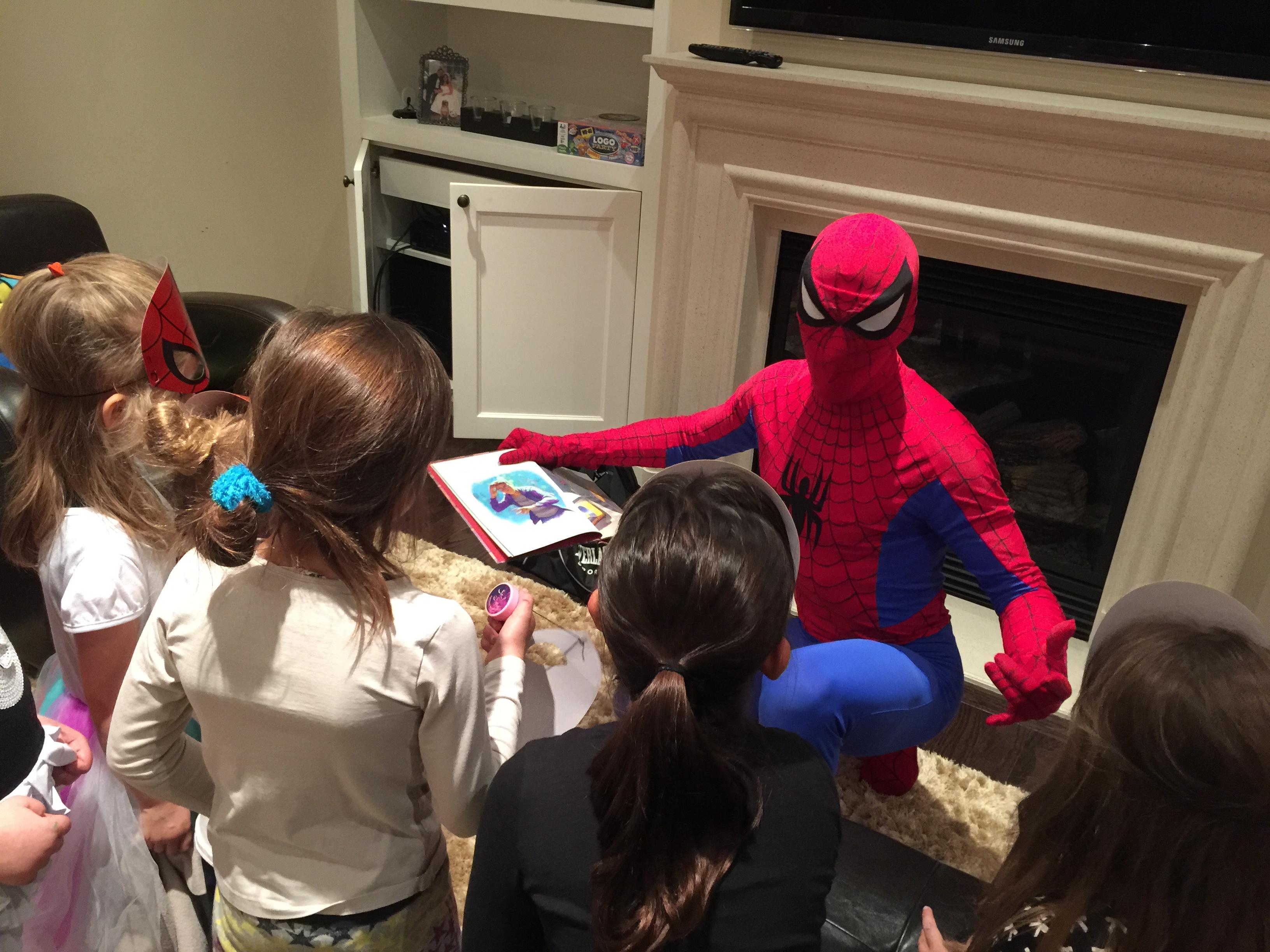 Bentley's Superhero Party Review
