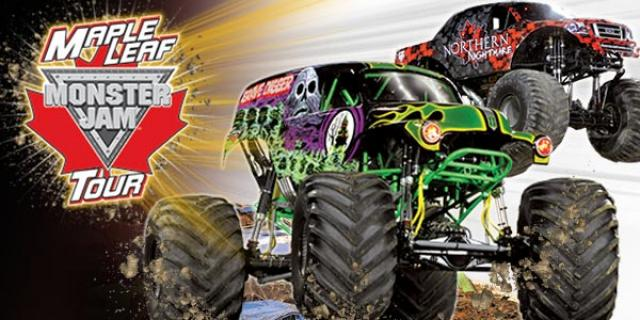 Monster Jam Tickets Contest