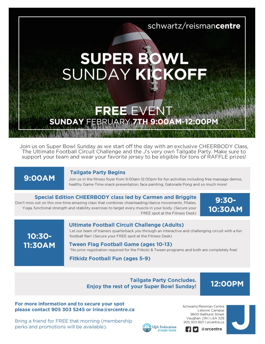 Super Bowl Event Poster