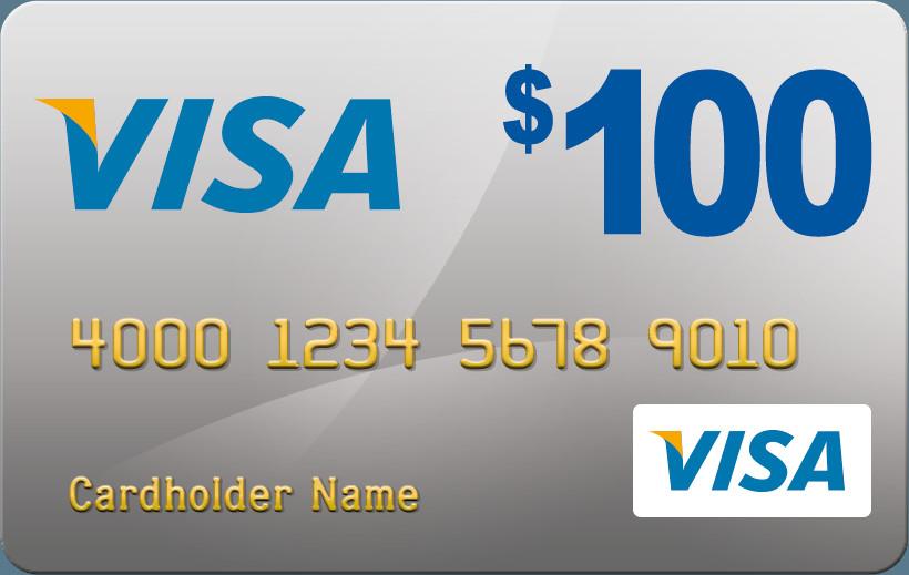 $100 VISA GIFT CARD CONTEST