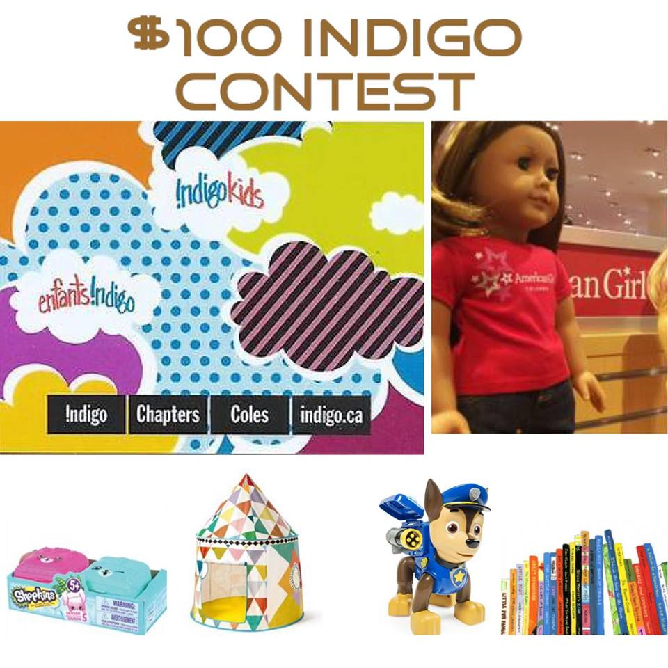 $100 INDIGO GIFT CARD CONTEST