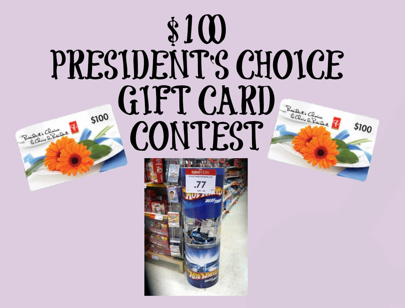 LOBLAWS/NO FRILLS GIFT CARD CONTEST