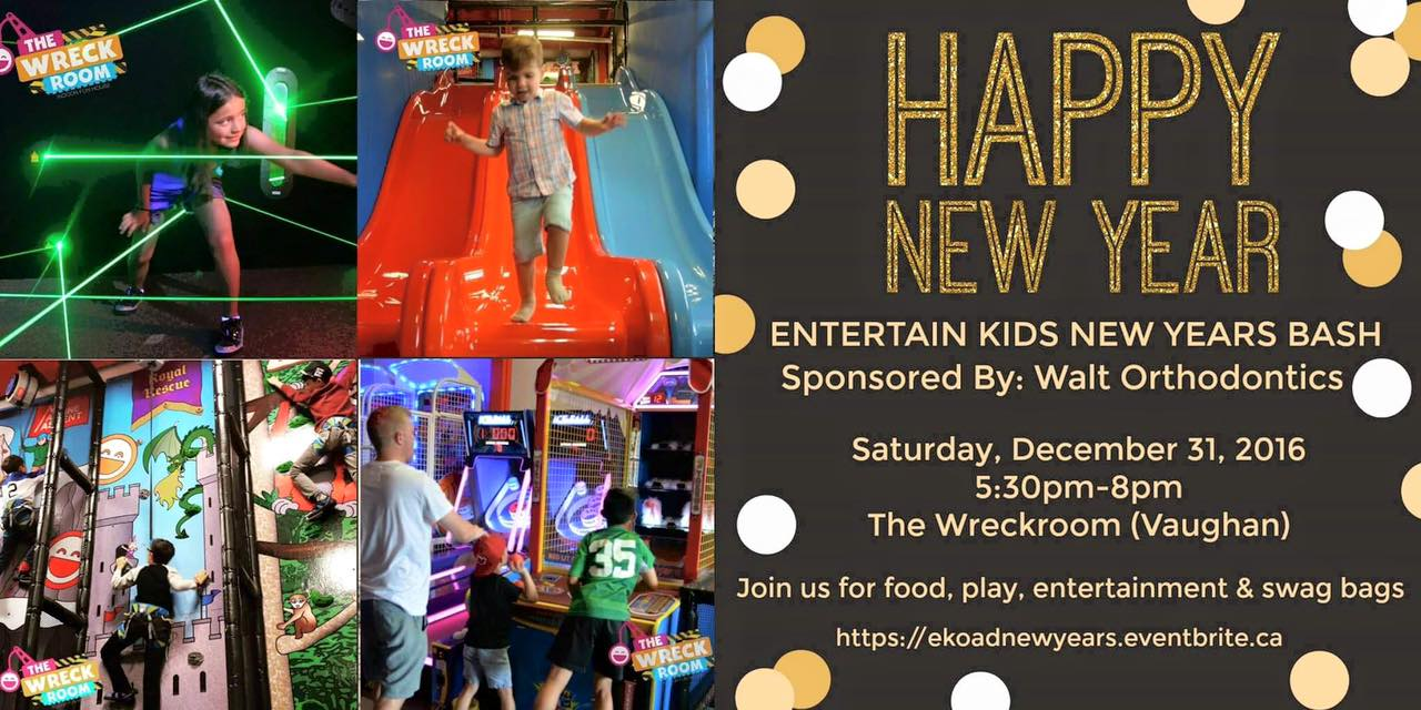 Entertain Kids On A Dime New Years Event!