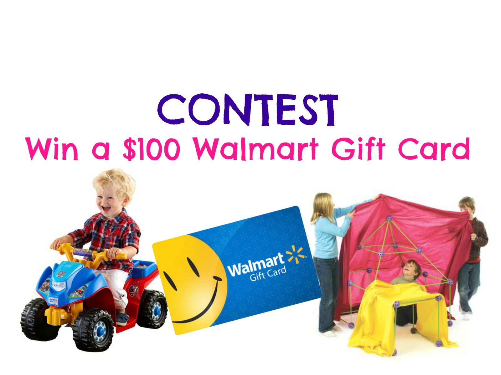 CONTEST: Win a $100 Walmart Gift Card