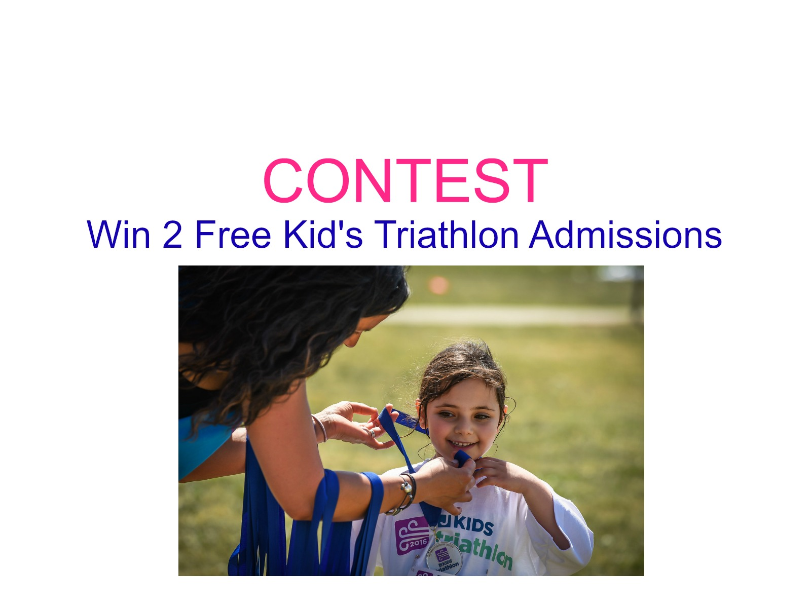 Contest: Win 2 FREE Kid's Triathlon Admissions