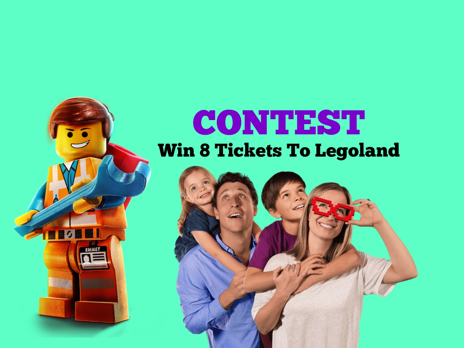 Contest: Win 8 Tickets To Legoland