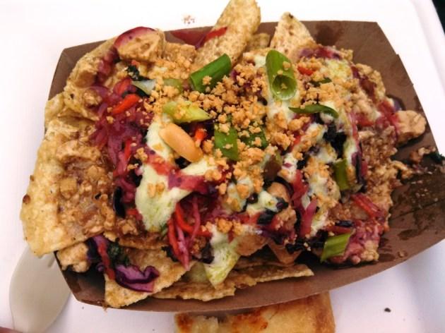 Malaysian nachos - who knew? (photo by Brad Auerbach)
