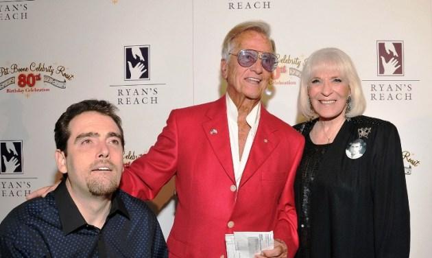 Pat & Shirley Booth & their Grandson, Ryan