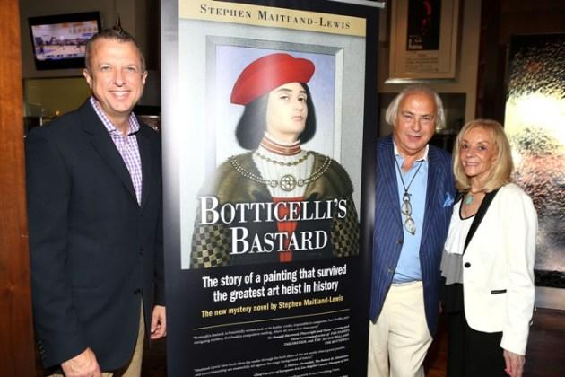 Keith McNutt (Actor's Fund), Stephen Maitland-Lewis & Joni Berry