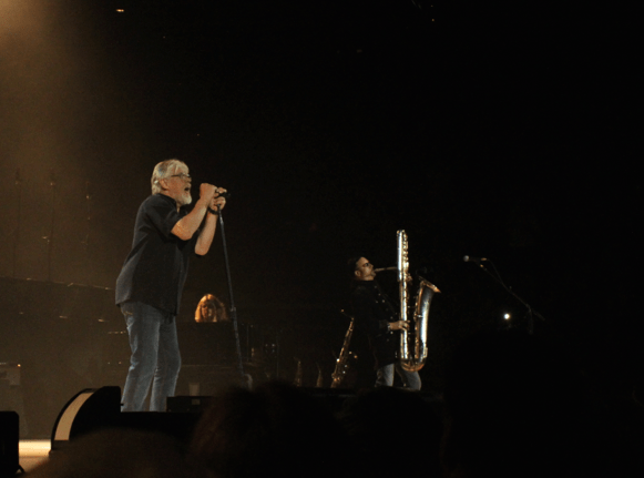 Bob Seger and Alto Reed with his prodigious sax (photo by Brad Auerbach)