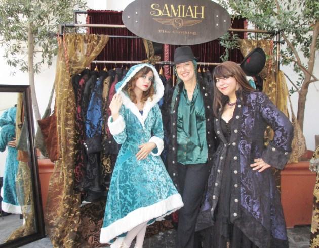 Samiah Fine Clothing (photo by Margie Barron)
