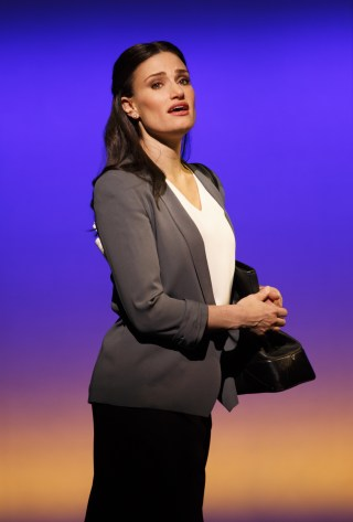 Idina Menzel in IF/THEN (photo JoanMarcus)