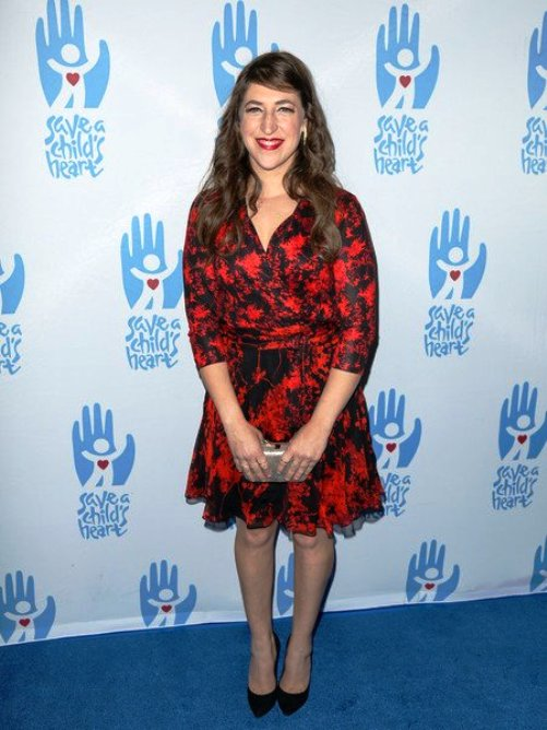 Actress Mayim Bialik (Big Bang Theory) at Save A Child's Heart Gala