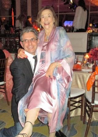 Dr. Anton Bilchik, Ruth Weil (photo by Margie Barron)