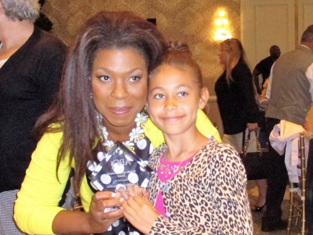 Lorraine Toussaint & Samara (photo by MargieBarron)