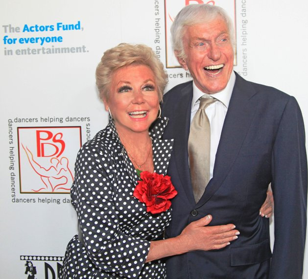 Mitzi Gaynor & Dick Van Dyke at Gypsy Awards