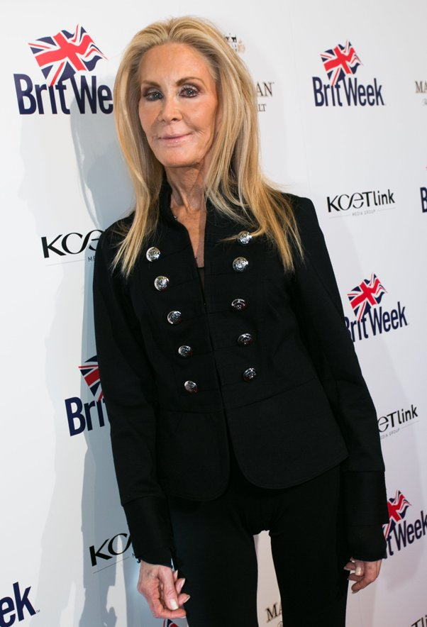 Joan Van Ark at Opening Night - Britweek