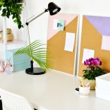 DIY Geometric Pinboards