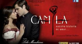 Camila en el Teatro Lola Membrives 2013: Precios y entradas en venta