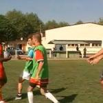 Entrainement rugby defense glissante