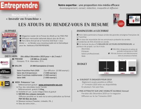 Kit Media Entreprendre - Franchises 2020-3