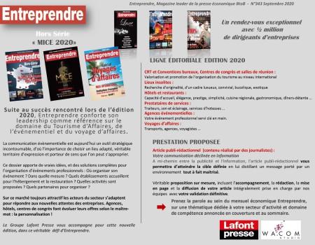 Kit Media Entreprendre - MICE 2020-2