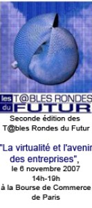 Seconde tables rondes du futur