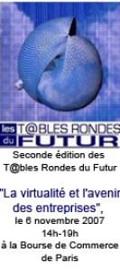 Seconde tables rondes du futur