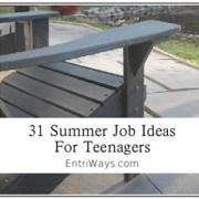31 Summer Job Ideas For Teenagers