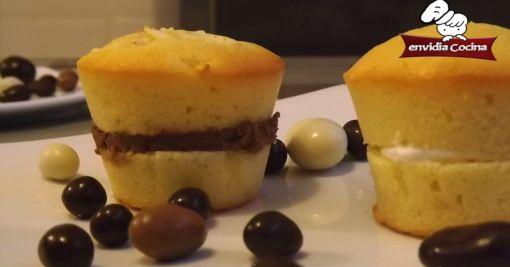 Muffins de naranja y queso