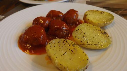 Patatas asadas al microondas -en 3 minutos-