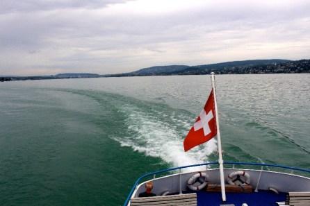 Sur le bateau...