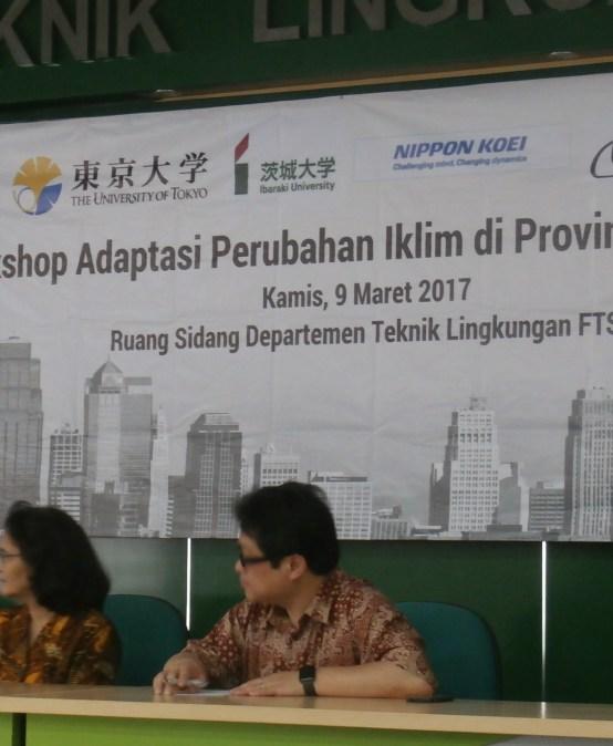 Workshop Adaptasi Perubahan Iklim Provinsi Jawa Timur