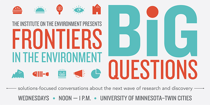Frontiers in the Environment banner image Fall 2015