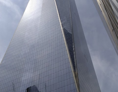 ~100 floors of  the WTC