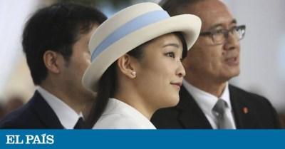 La princesa Mako dice adiós a la familia real japonesa con un viaje a Latinoamérica   Gente y ...